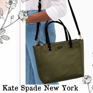 NWT Kate Spade Medium Satchel Dawn Purse (Sapling)